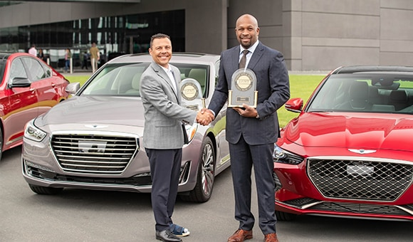 GENESIS IS TOP BRAND FOR SECOND CONSECUTIVE YEAR IN J.D. POWER 2019 U.S. INITIAL QUALITY STUDY.