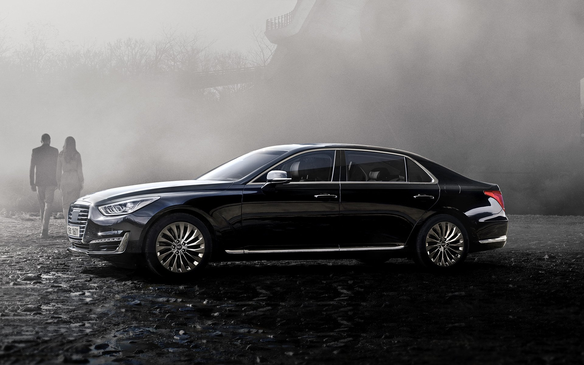 Genesis Eq900 New Luxury Midsize Sedan Genesis Korea