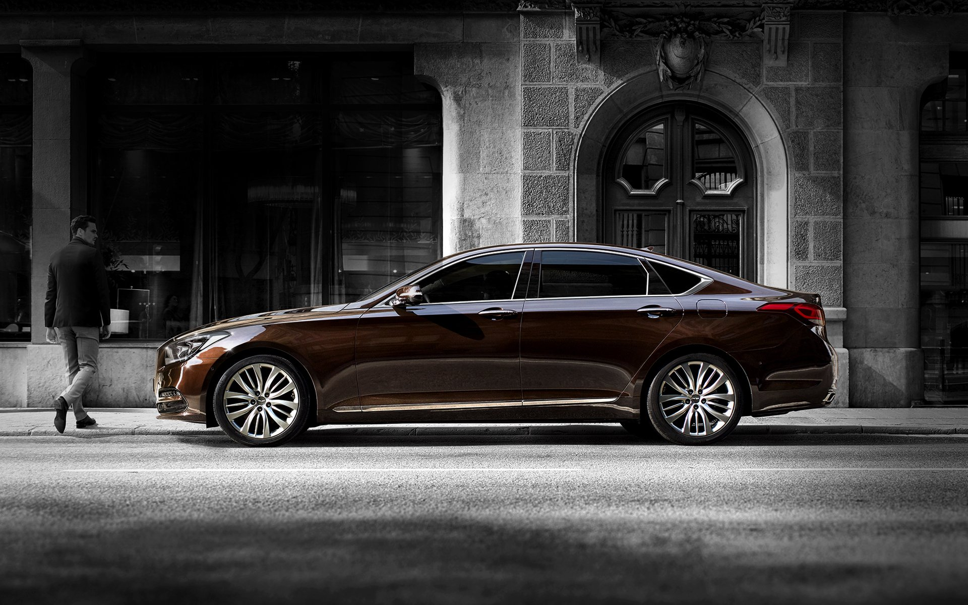 GENESIS G80 Design Features - PERFECT PROPORTION