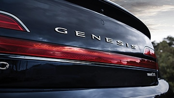GENESIS G90 Design Features - 레터링 엠블럼