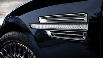 GENESIS G90 Design Features - 사이드 리피터