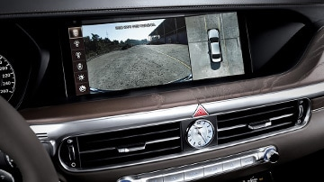 GENESIS G90 Safety Features - Surround-View Monitor