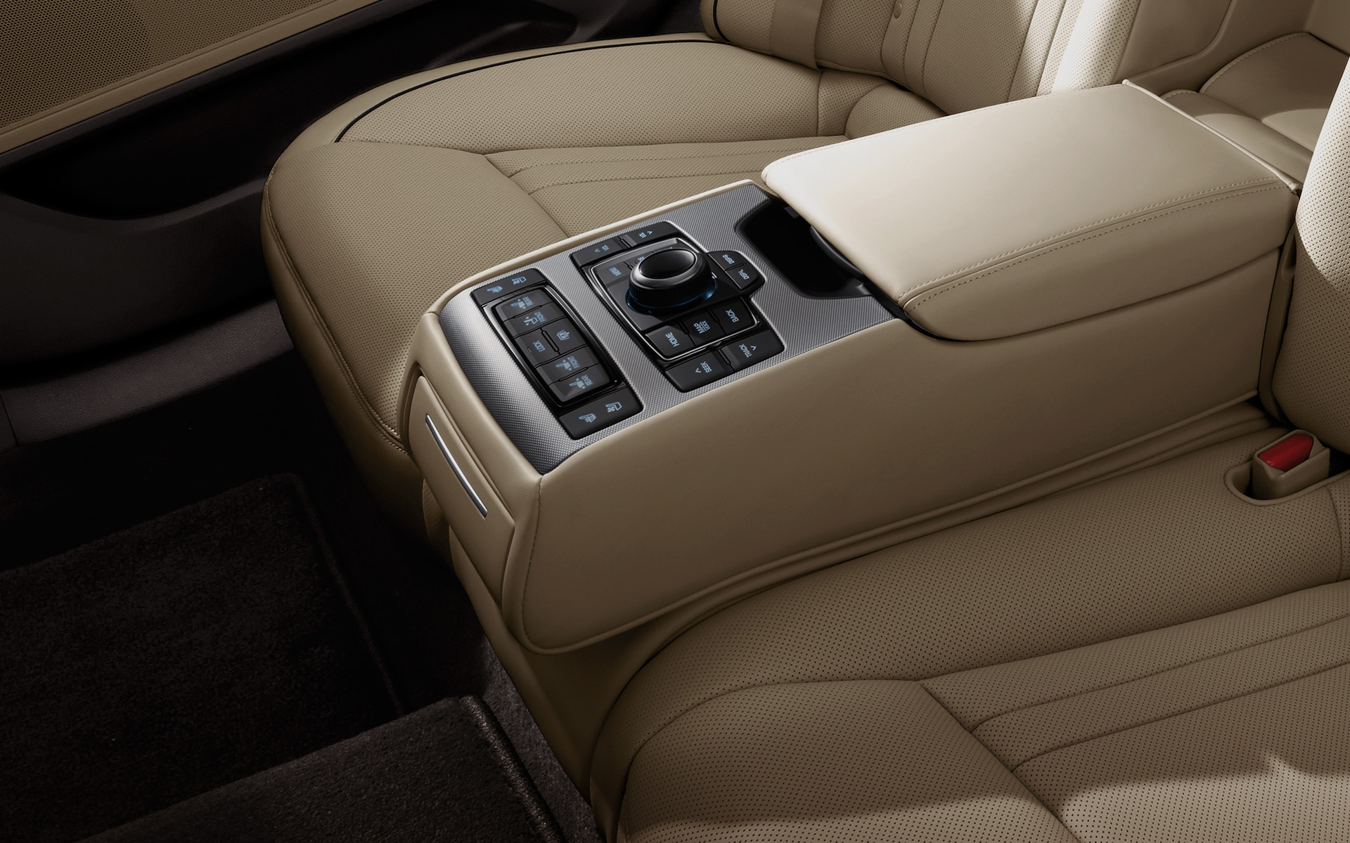 GENESIS G80 Innovation Features - Remote Control Panel for Rear Seats