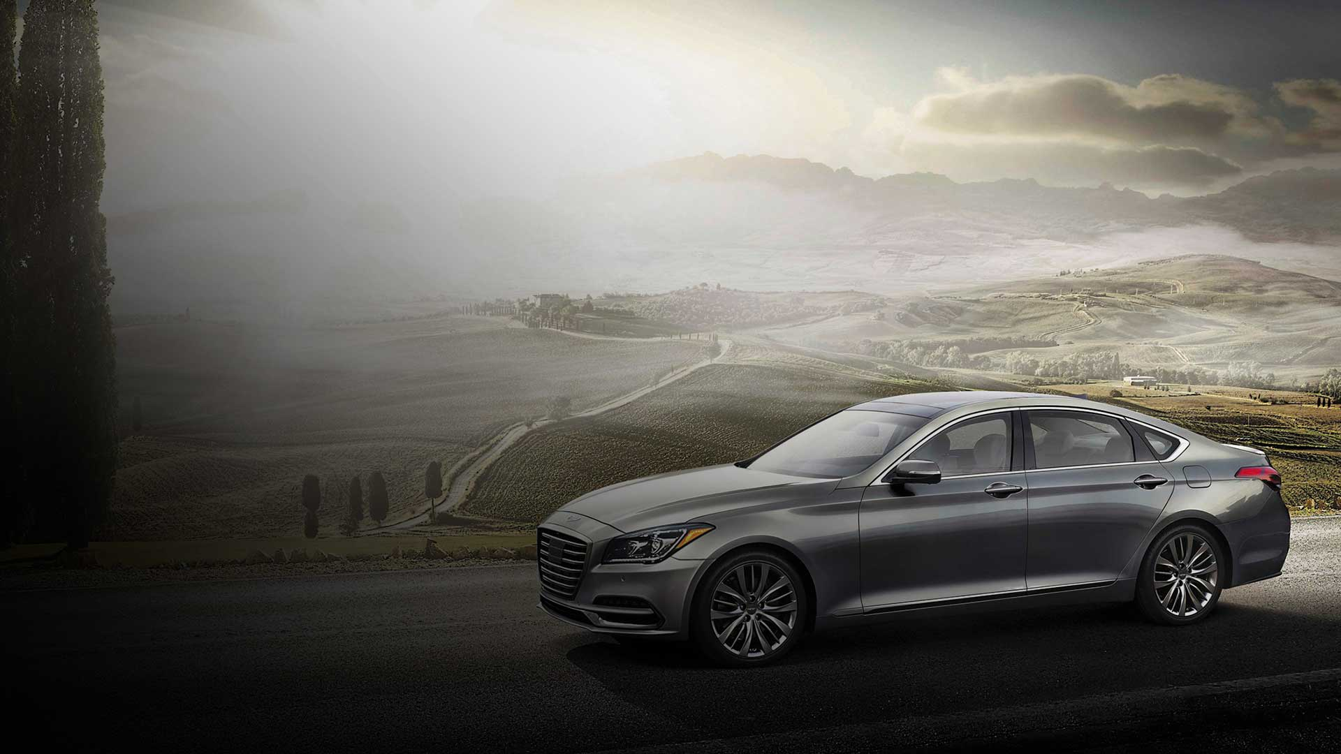 Genesis G80 - New Midsize Luxury Sedan From Genesis USA