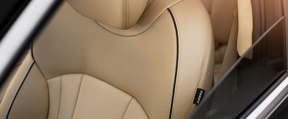 PREMIUM LEATHER SEATING SURFACES