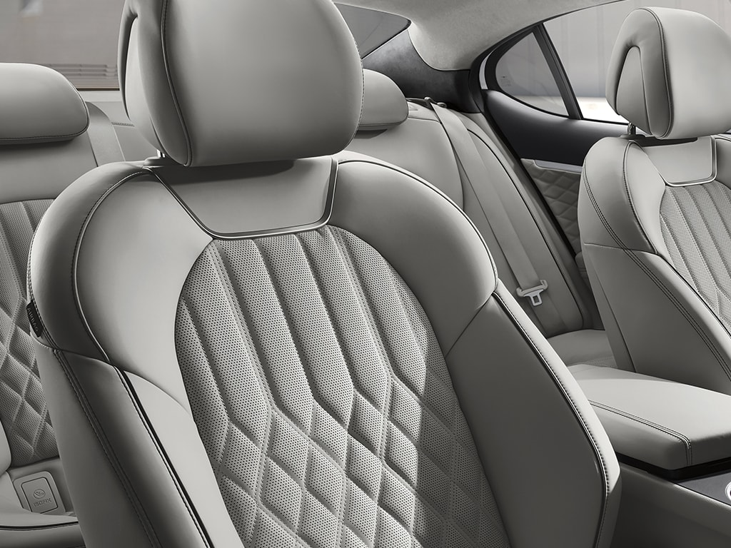 2021 Genesis G70 luxury quilted seat