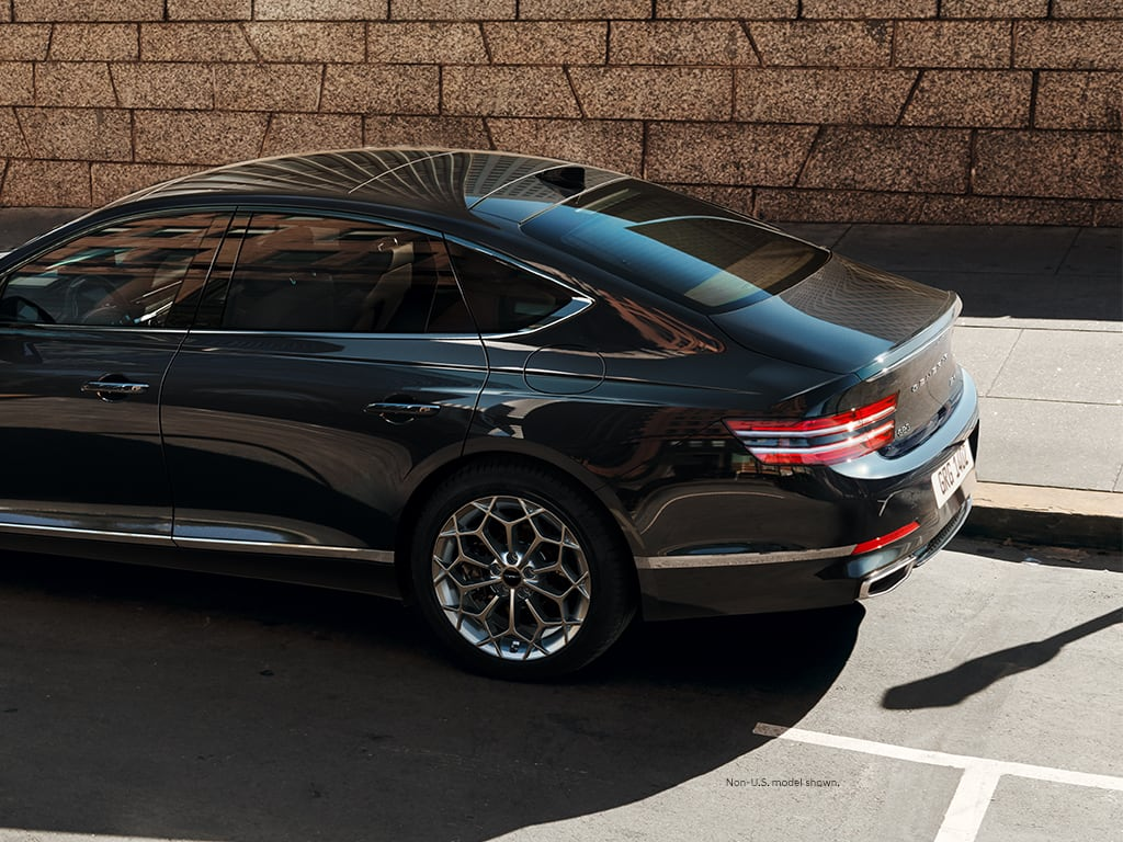 Meet The 2021 Genesis G80 Luxury Midsize Sedan