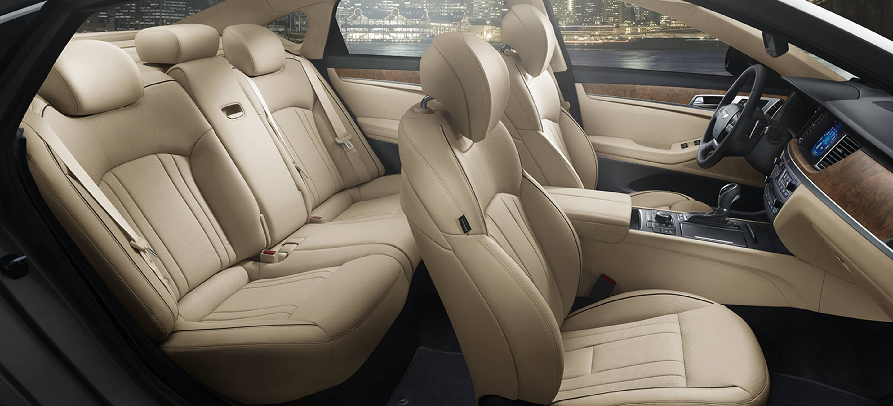 Genesis G80 Leather Seats