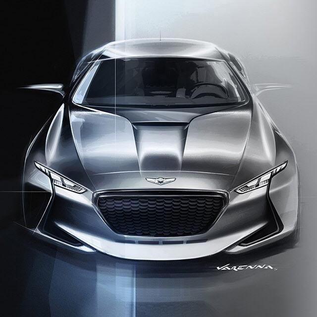Genesis New York Concept Car Genesis Usa