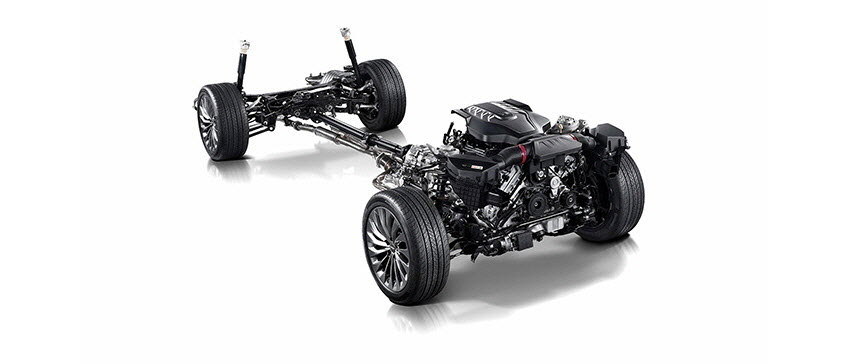 Adaptive Control Suspension Reinforces Steering Ility During Inconsistent Road Conditions To Deliver A Smooth Elegant Ride Even At High Sds