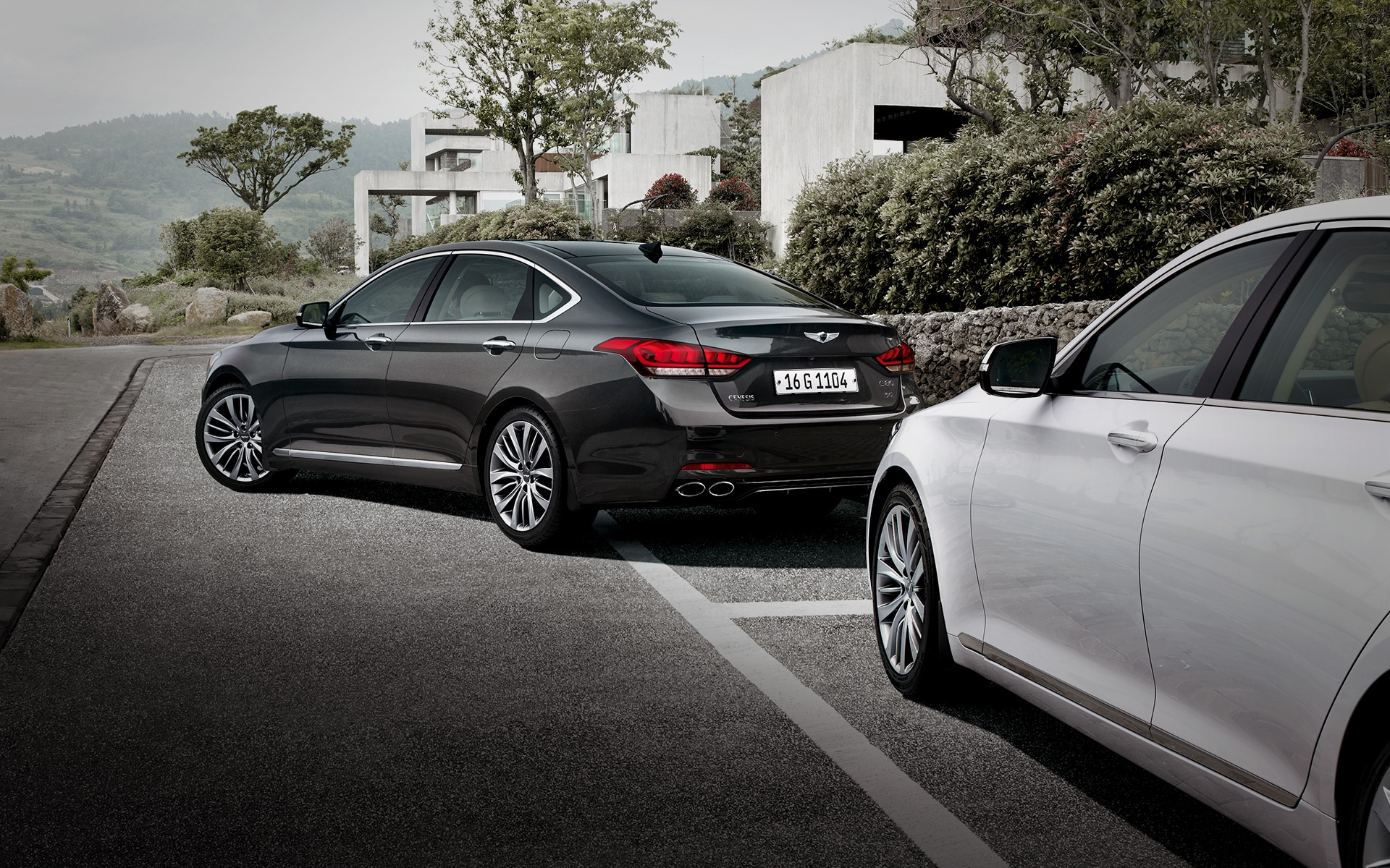 GENESIS G80 Innovation Features - Parking Assist System (PAS)