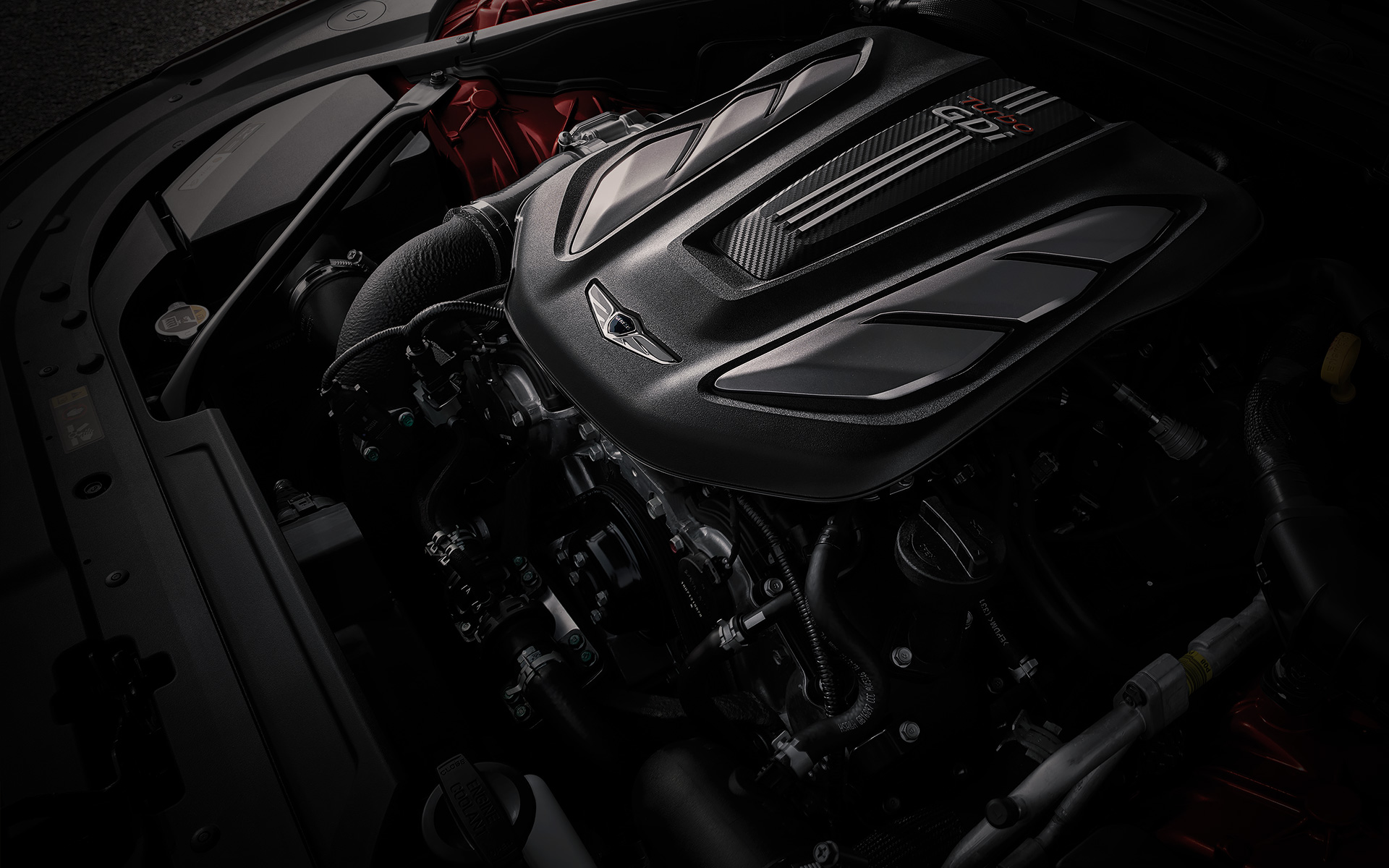 GENESIS G80 SPORT Performance Features - 3.3 V6 T-GDi Gasoline Engine